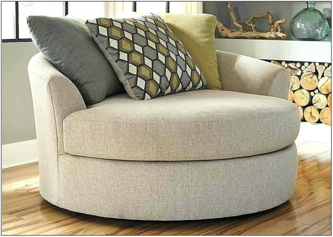 Large Round Living Room Chair