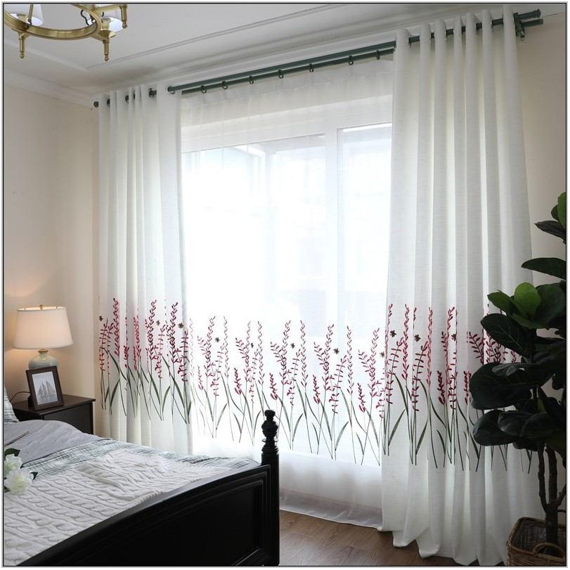 Lavender Curtains Living Room