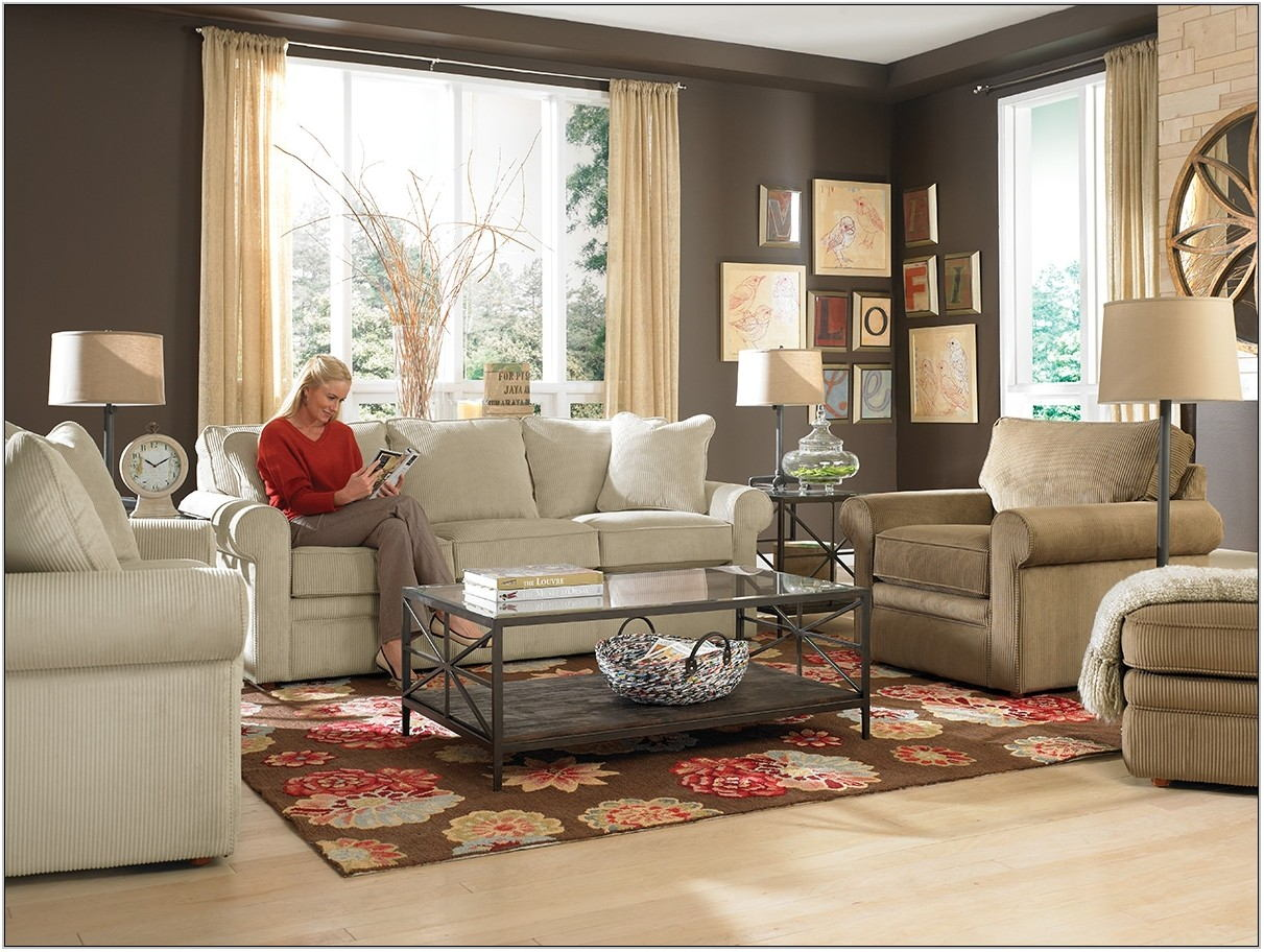Lazy Boy Living Room Sets Leather