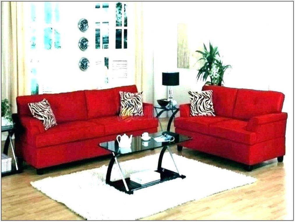 Leather Sofa Living Room Decor