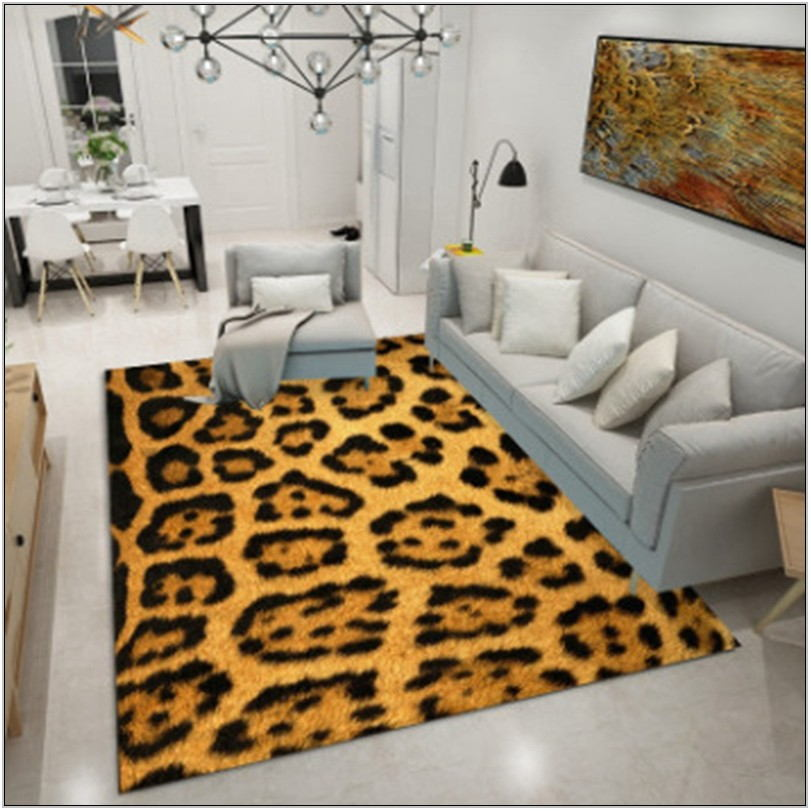 Leopard Rugs For Living Room