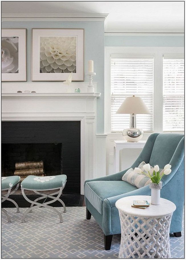 Light Blue Living Room Decor