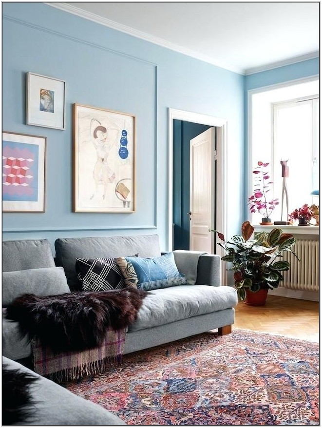 Light Blue Paint Living Room