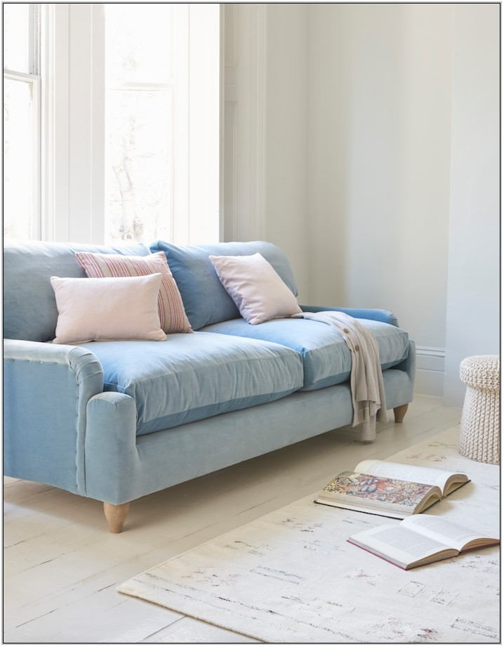 Light Blue Sofa Living Room