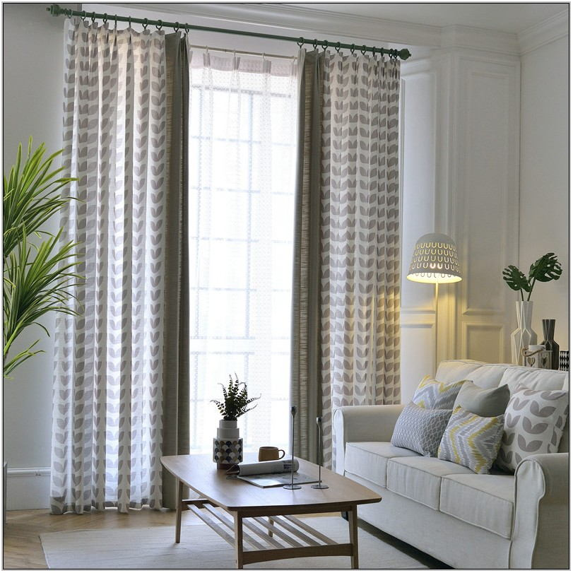 Light Living Room Curtains