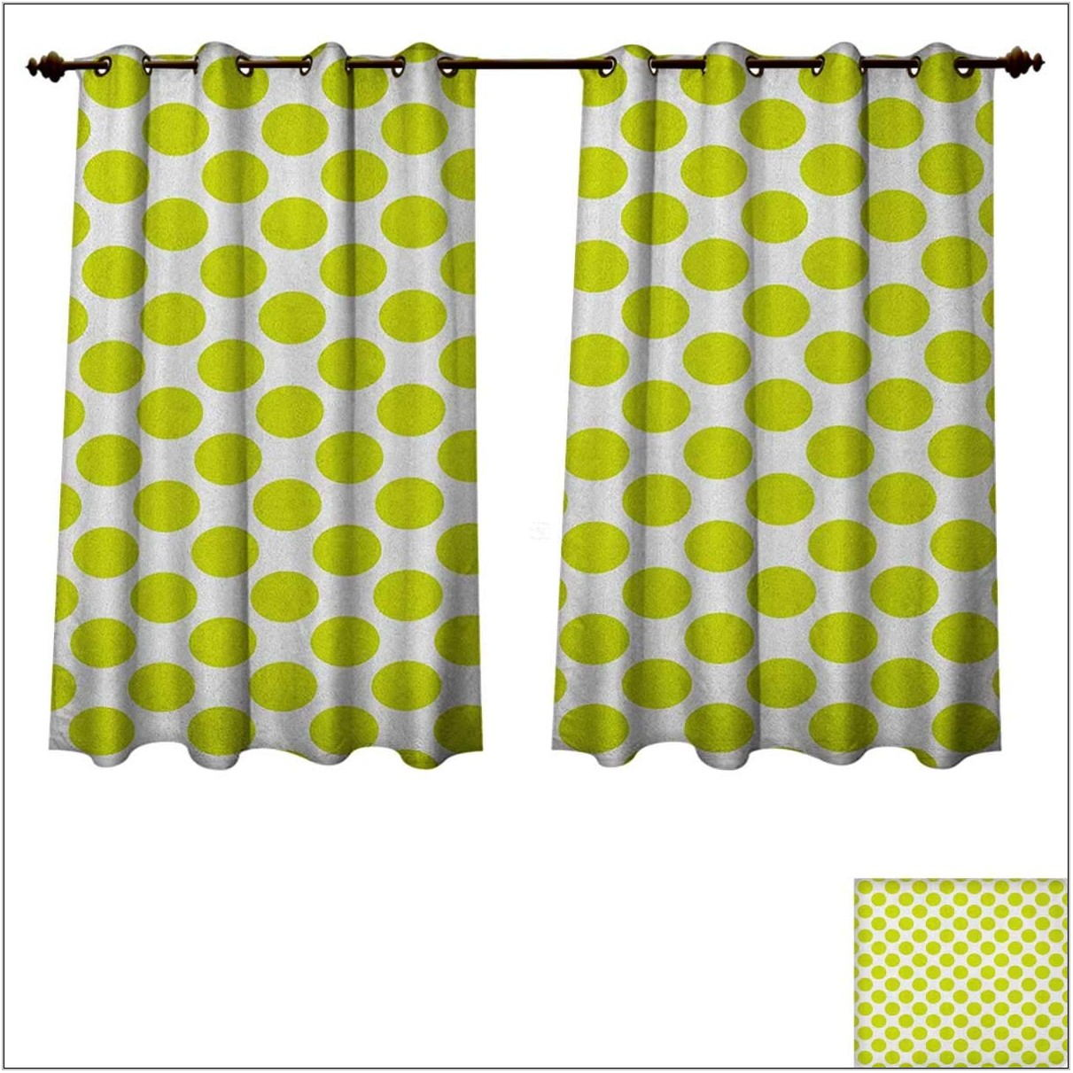 Lime Green Curtains For Living Room