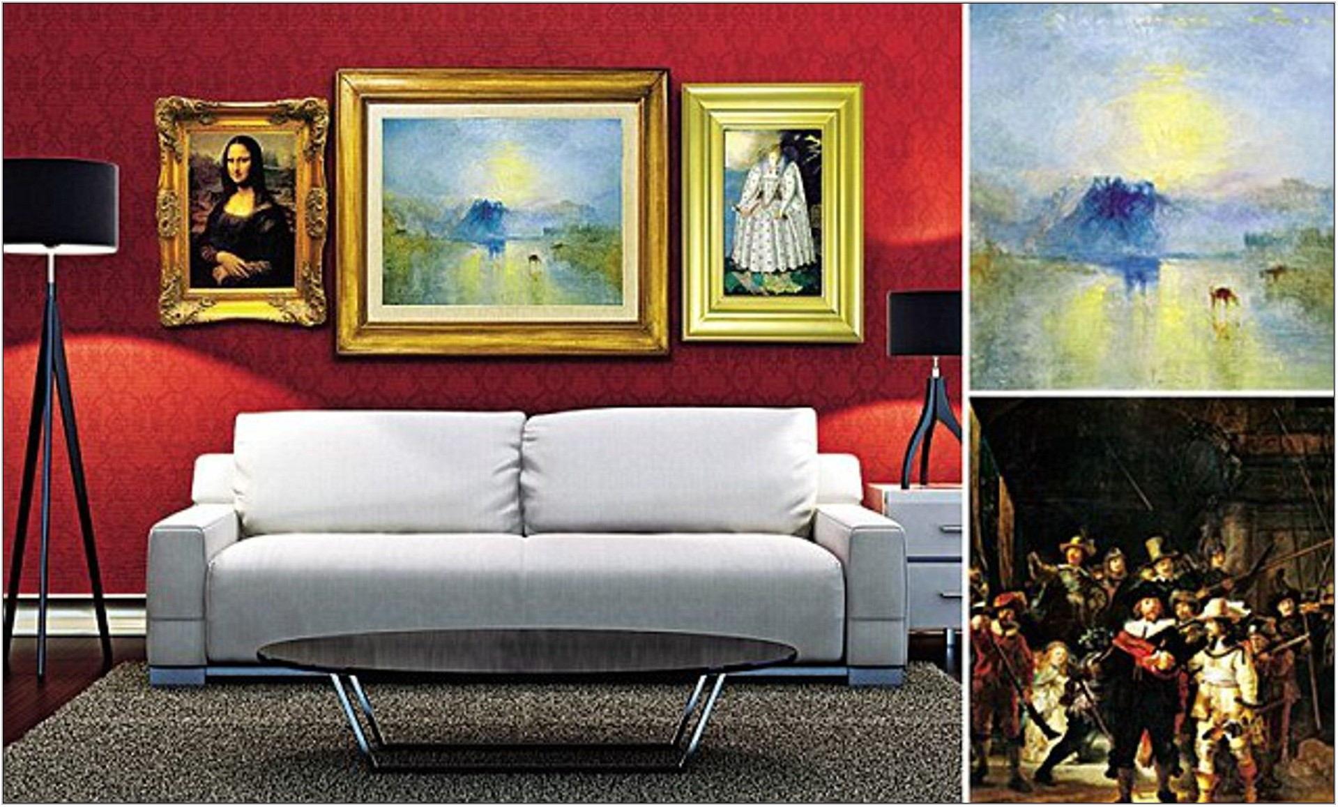 Living Room Art Gallery