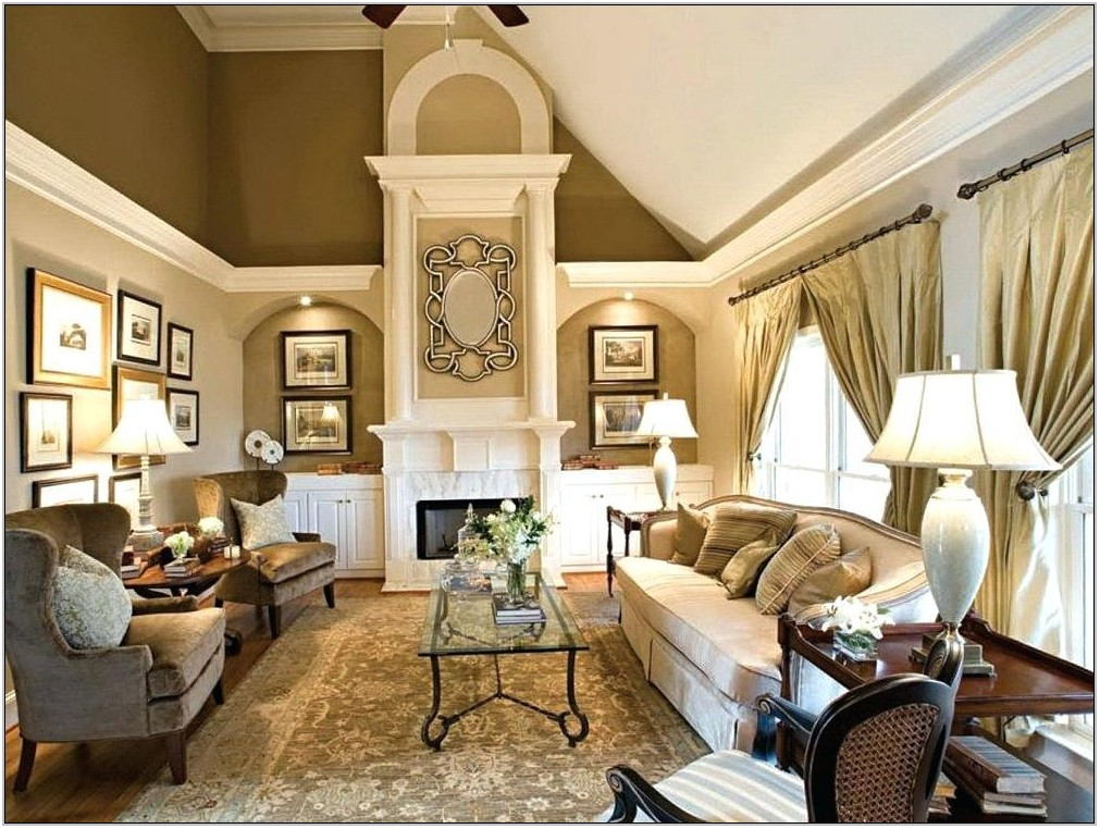Living Room Ceiling Paint Ideas