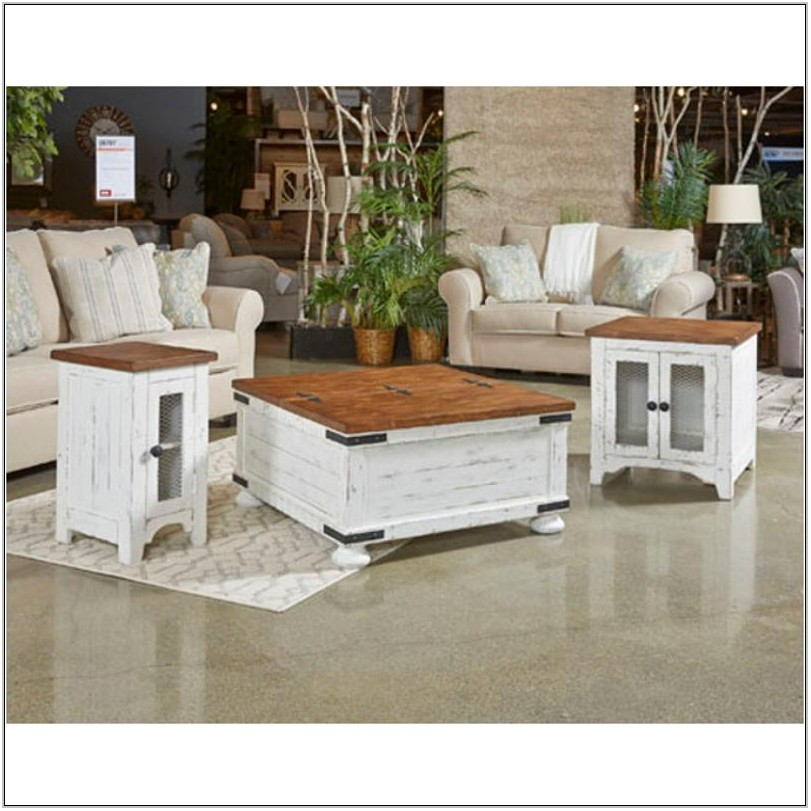 Living Room Chair Side Table