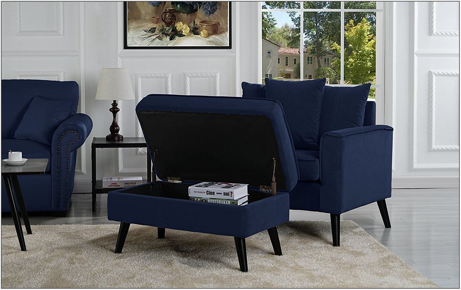 Living Room Chair With Footrest