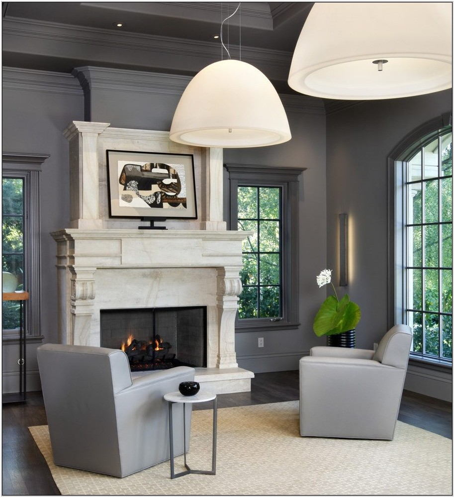 Living Room Colors With White Trim