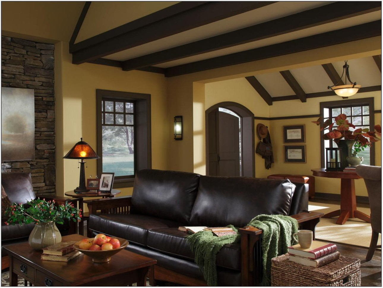 Living Room Colors With Wood Trim