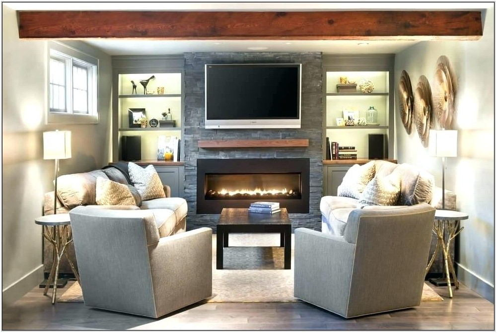 Living Room Configurations With Fireplace