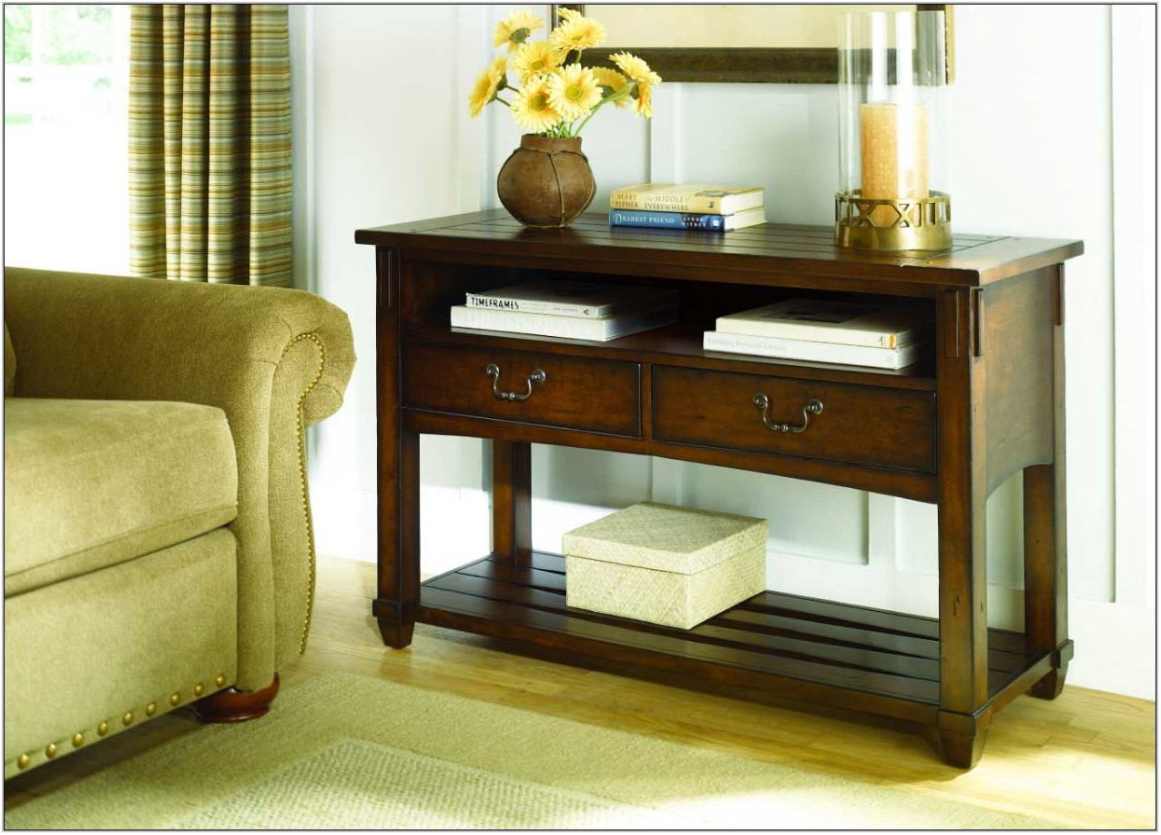 Living Room Console Table With Storage