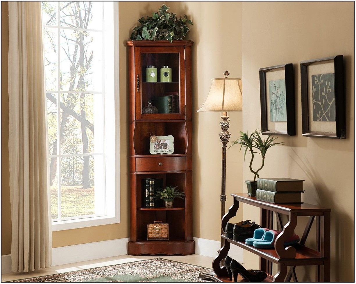 Living Room Curio Cabinet