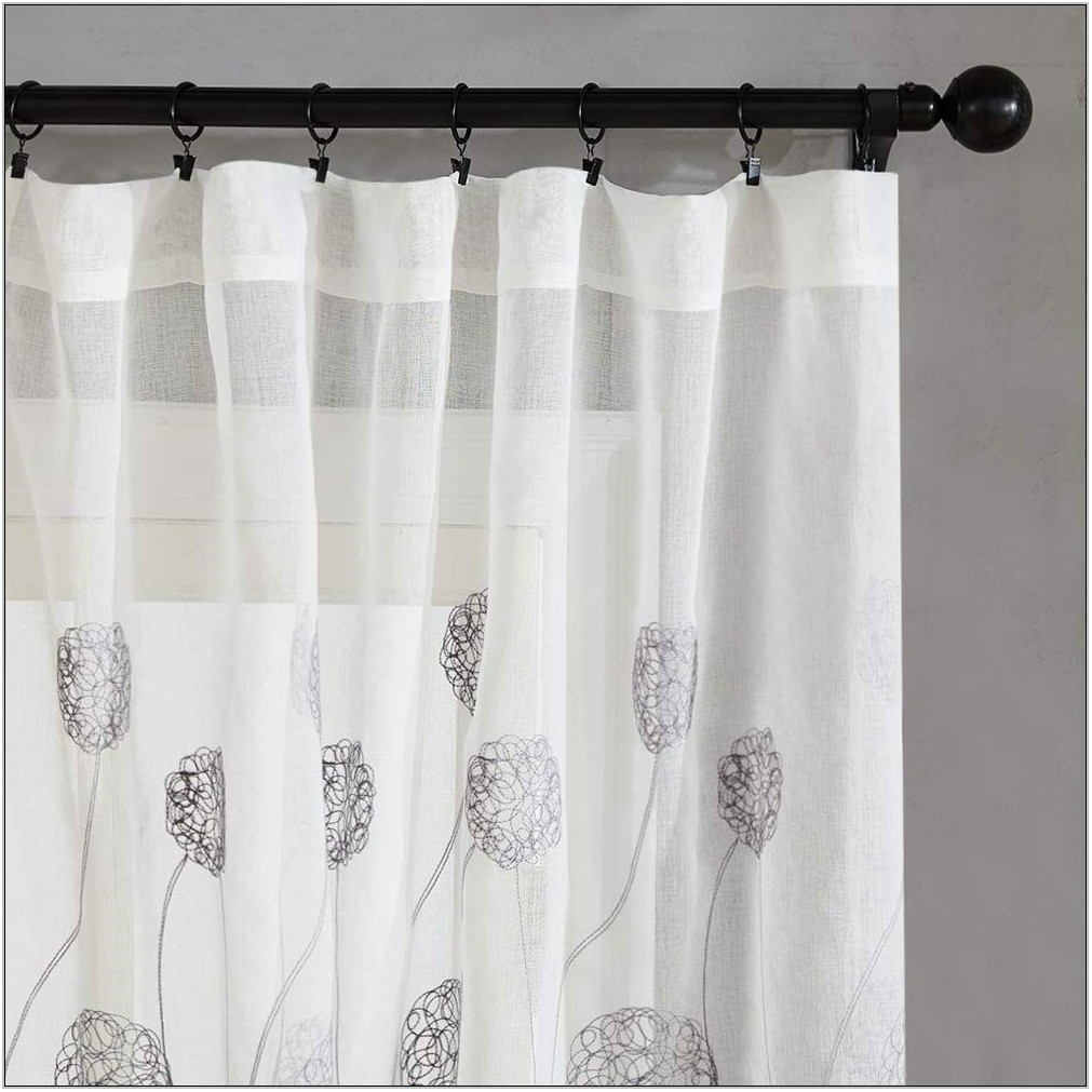 Living Room Curtain Length