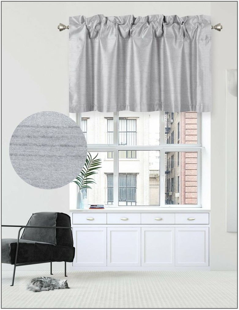 Living Room Curtains With Valance