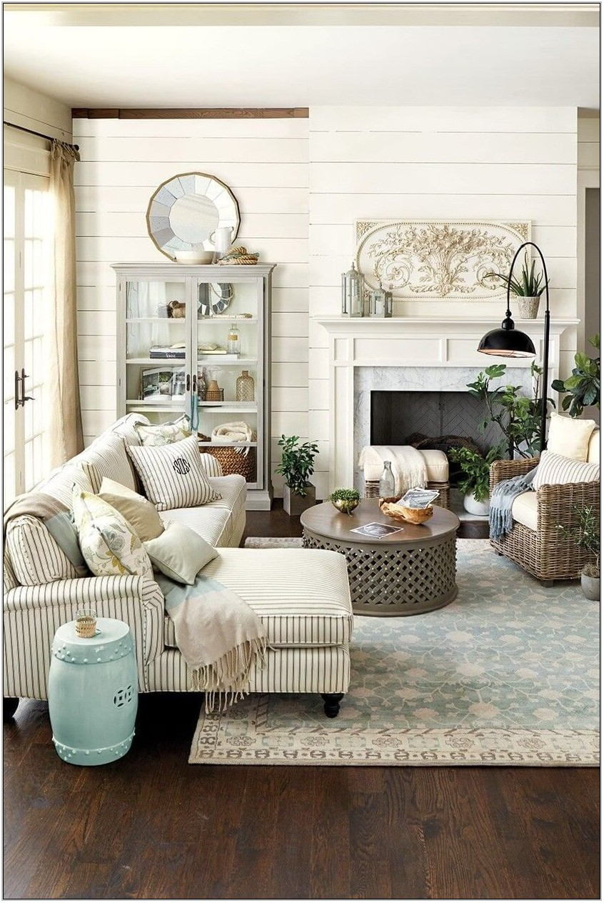 Living Room Decor Farmhouse