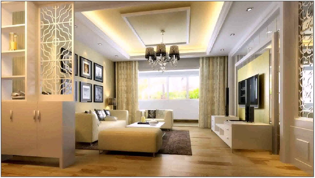 Living Room Divider Design