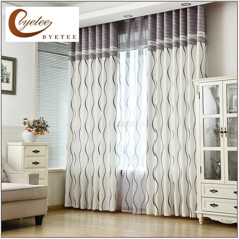 Living Room Door Curtains