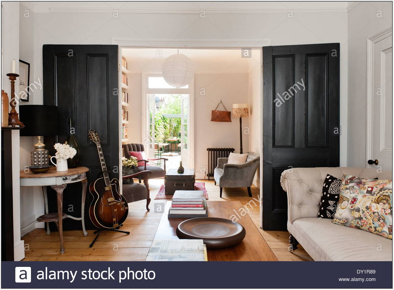 Living Room Double Doors