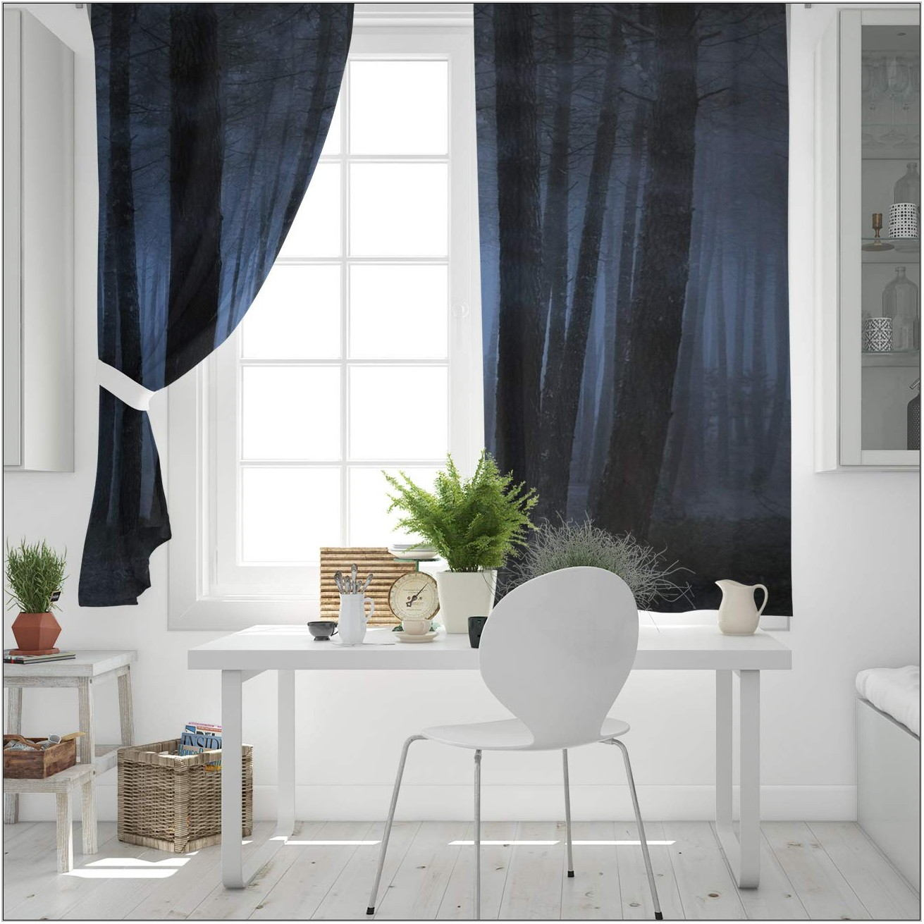 Living Room Drapes With Grommets