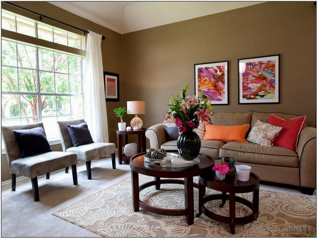 Living Room Earth Tone Color Schemes