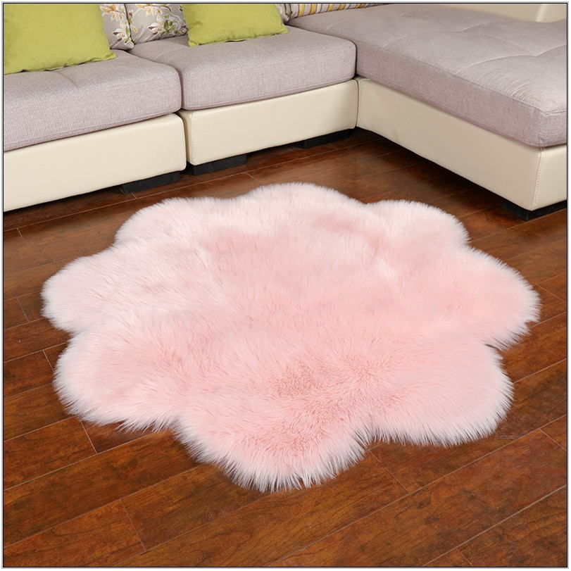 Living Room Faux Fur Rug