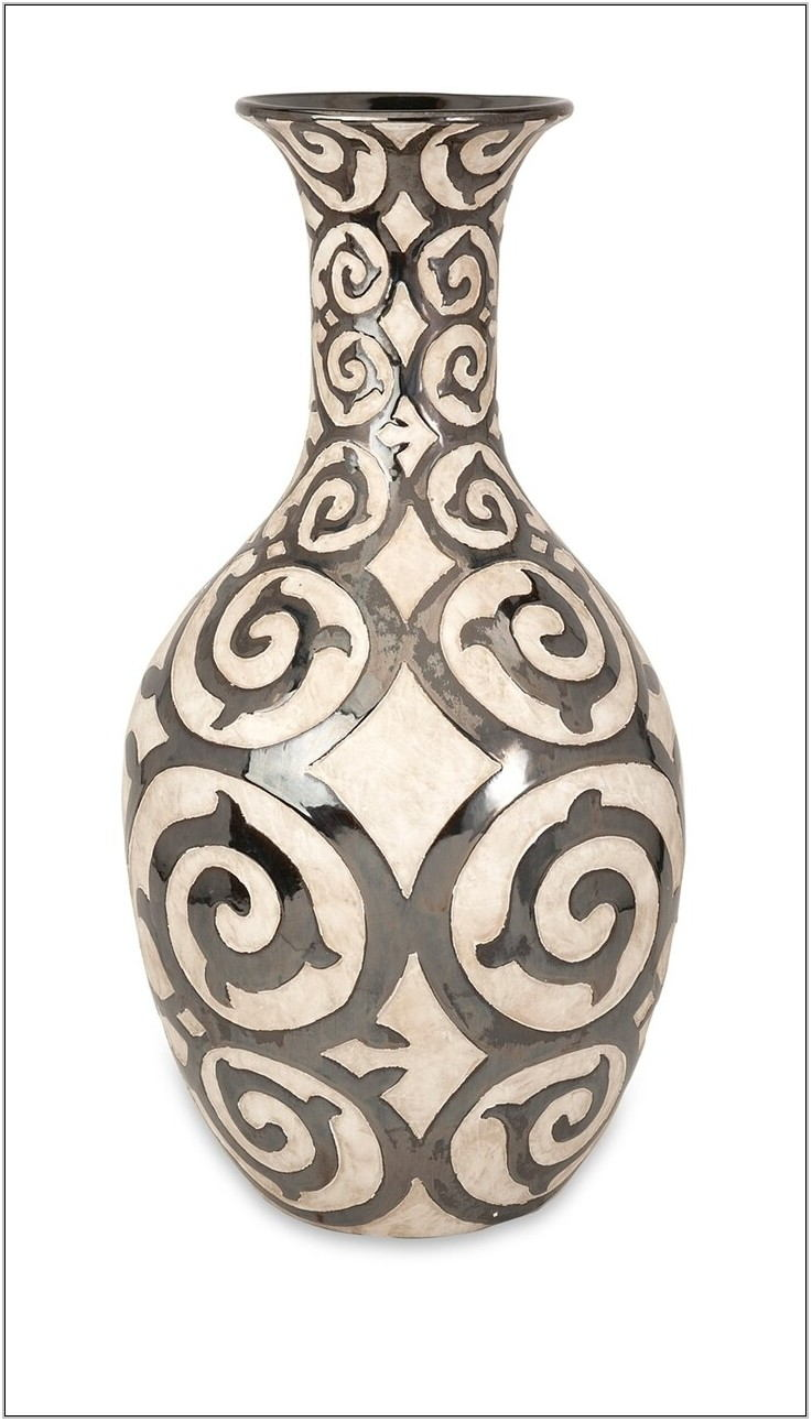 Living Room Floor Vase Decor