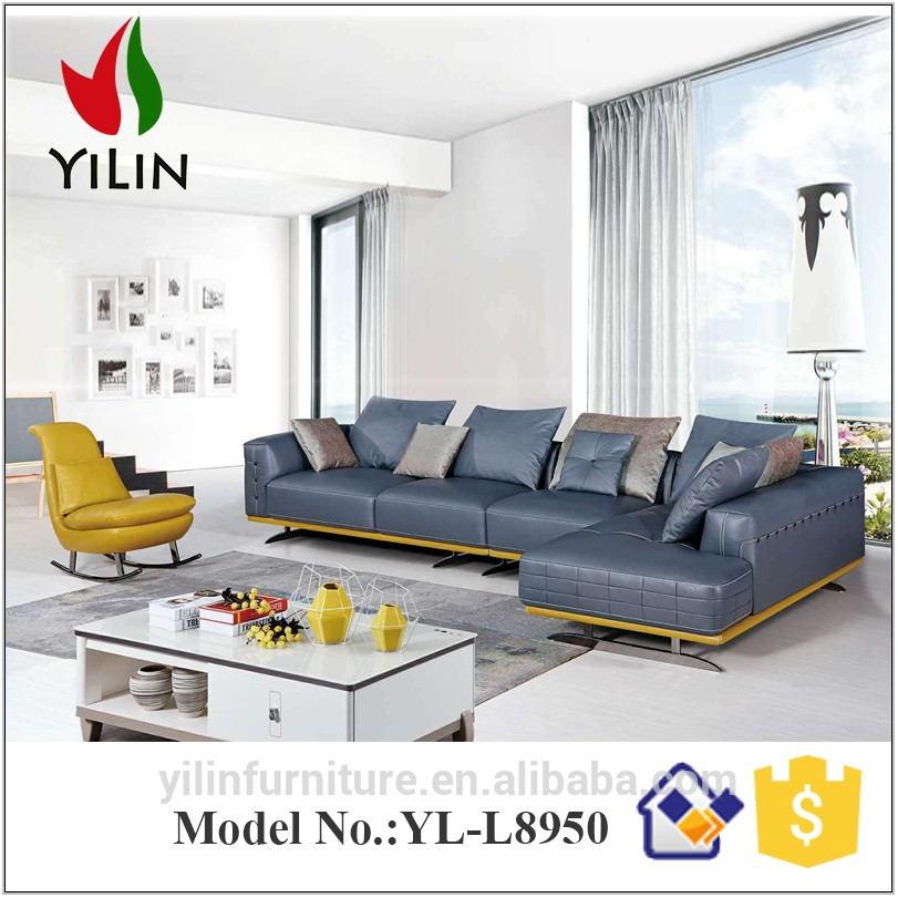 Living Room Furniture Blue