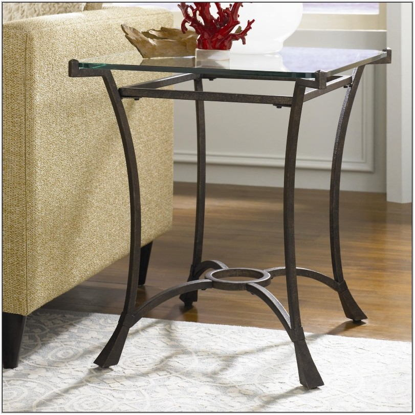 Living Room Glass End Tables