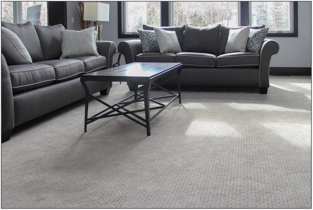 Living Room Gray Carpet