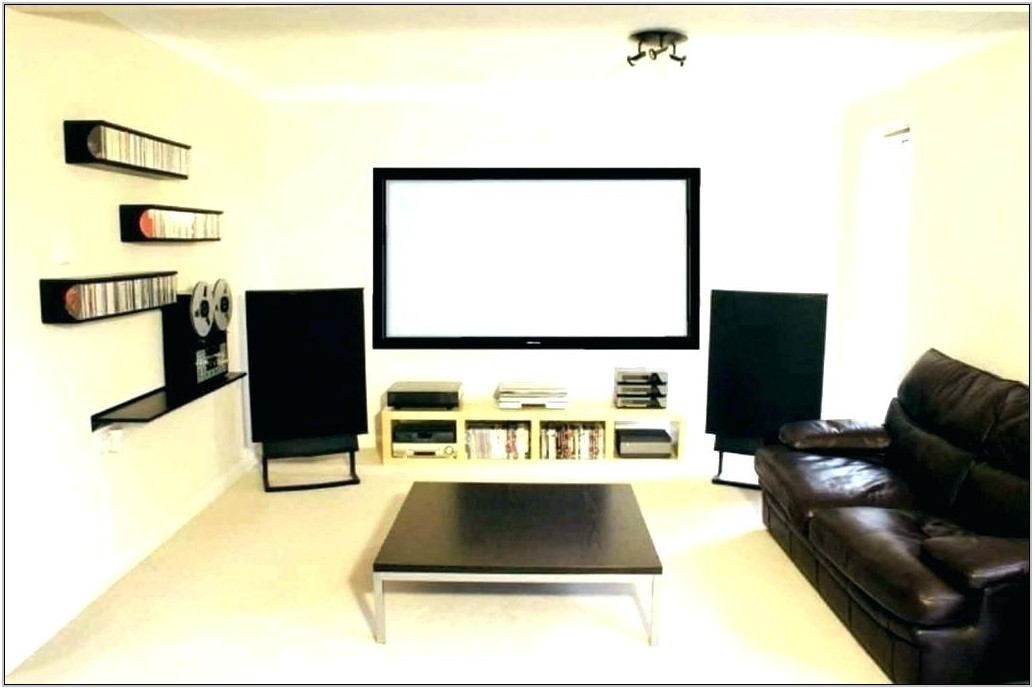 Living Room Home Theater Setup