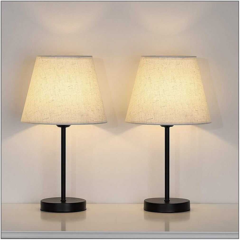 Living Room Lamps Set Of 2
