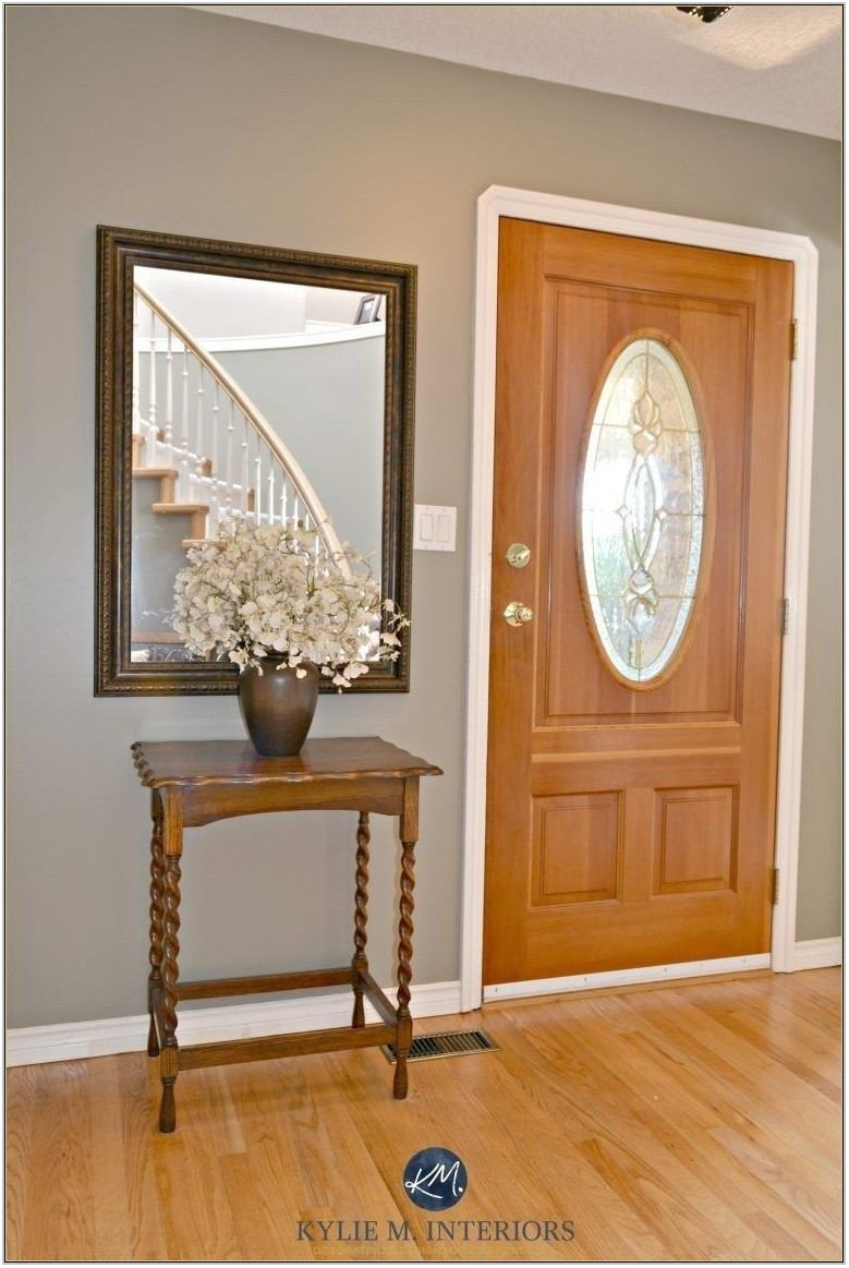Living Room Paint Colors With Oak Trim