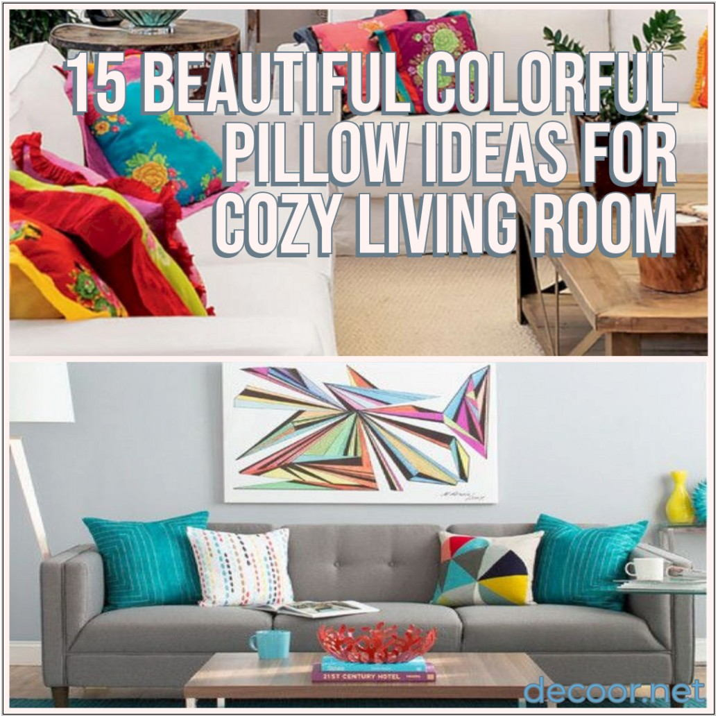 Living Room Pillow Ideas