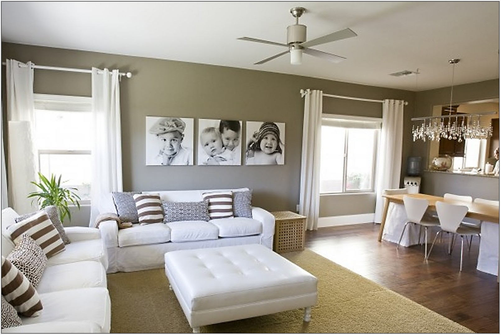 Living Room Portrait Ideas