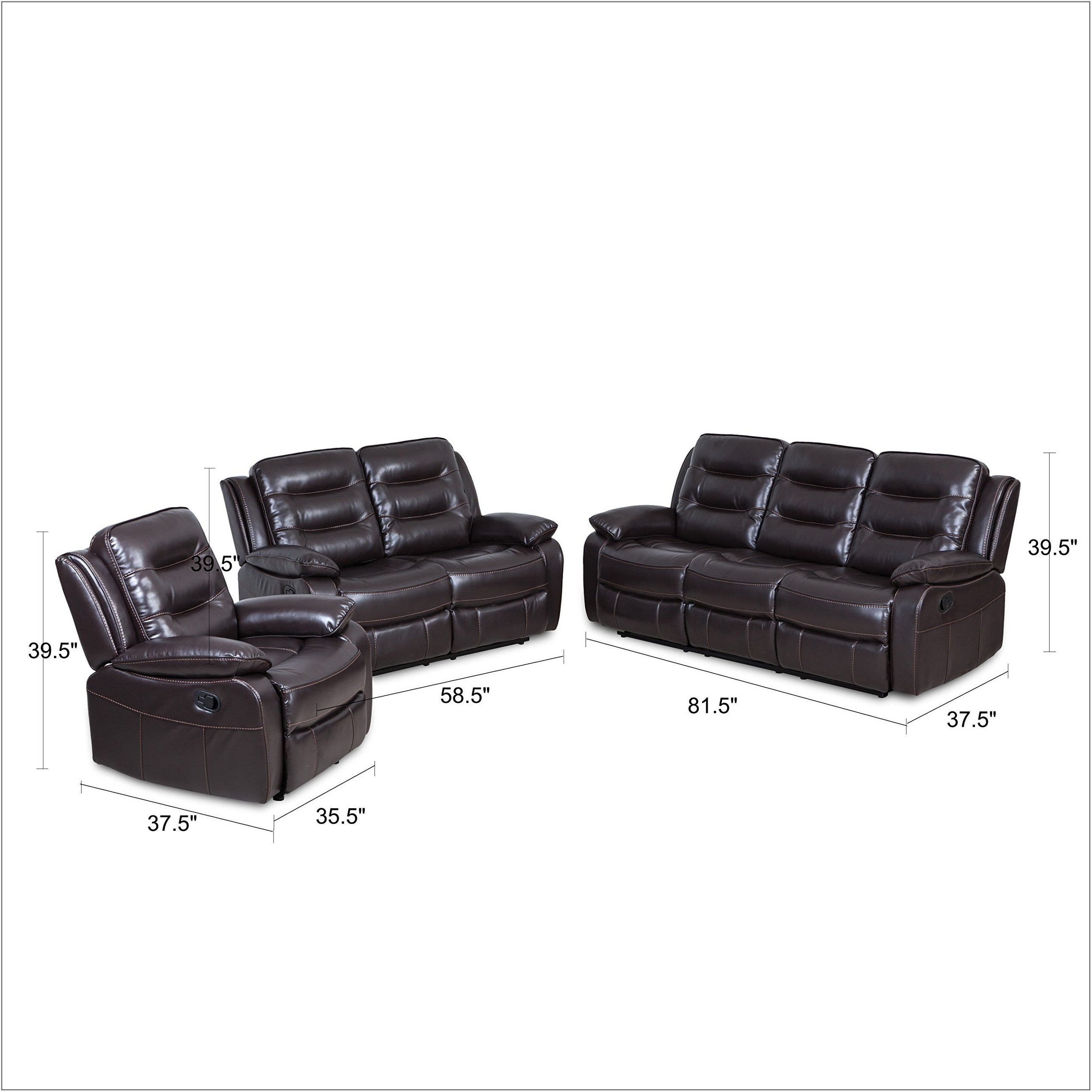 Living Room Recliner Sofa Sets