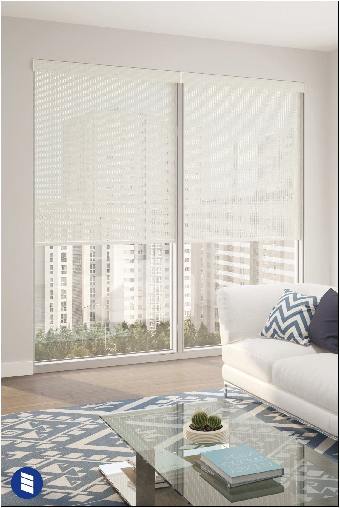 Living Room Roller Shades