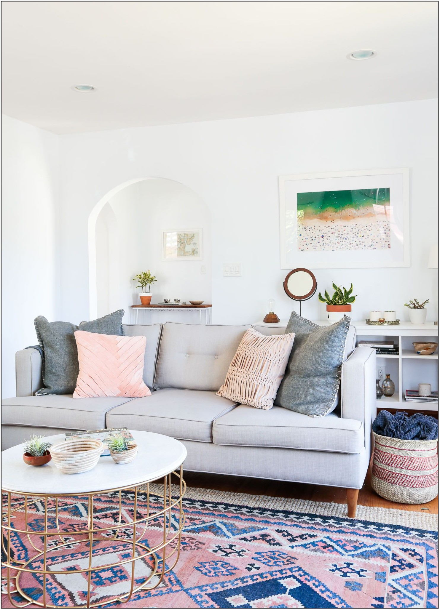 Living Room Rug Inspiration