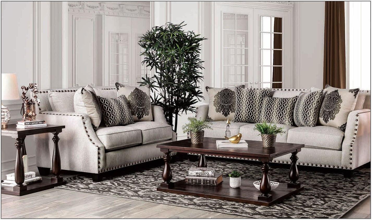 Living Room Set Beige