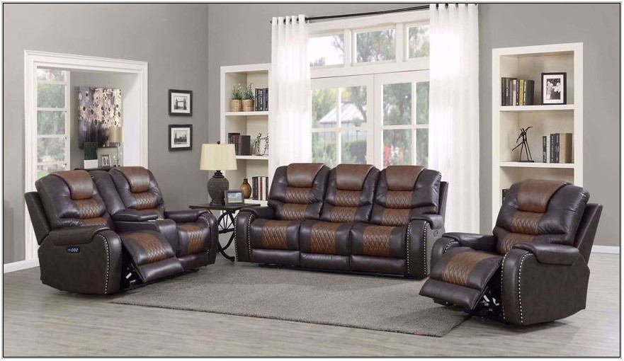 Living Room Set Reclining Sofa Loveseat