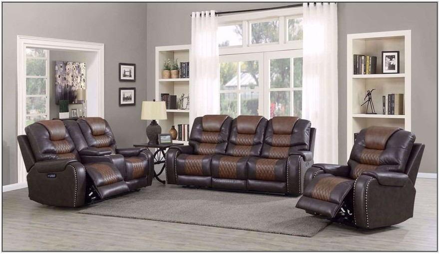 Living Room Set Reclining Sofa Loveseat