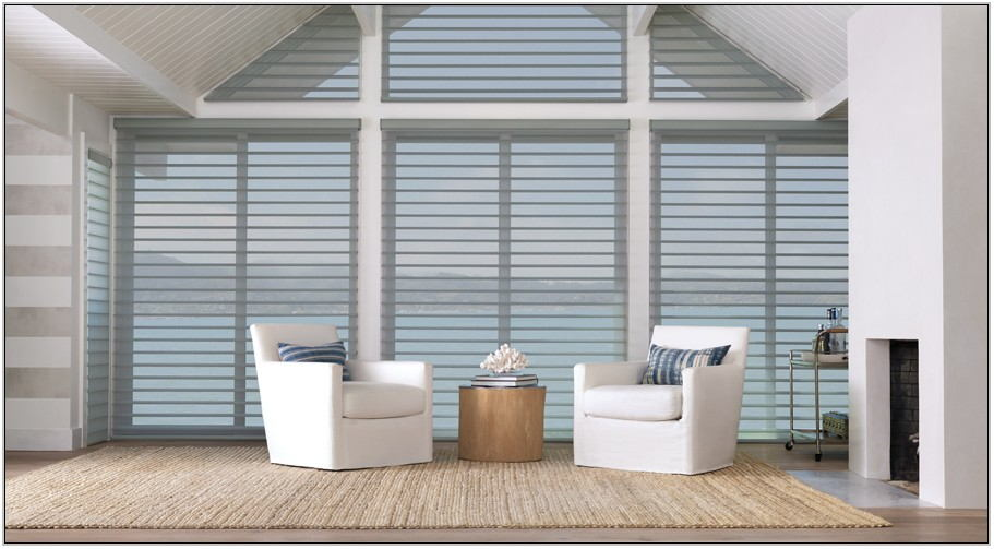 Living Room Shades Window Coverings