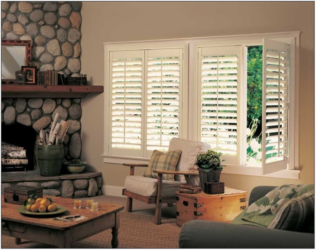 Living Room Shutters Interior