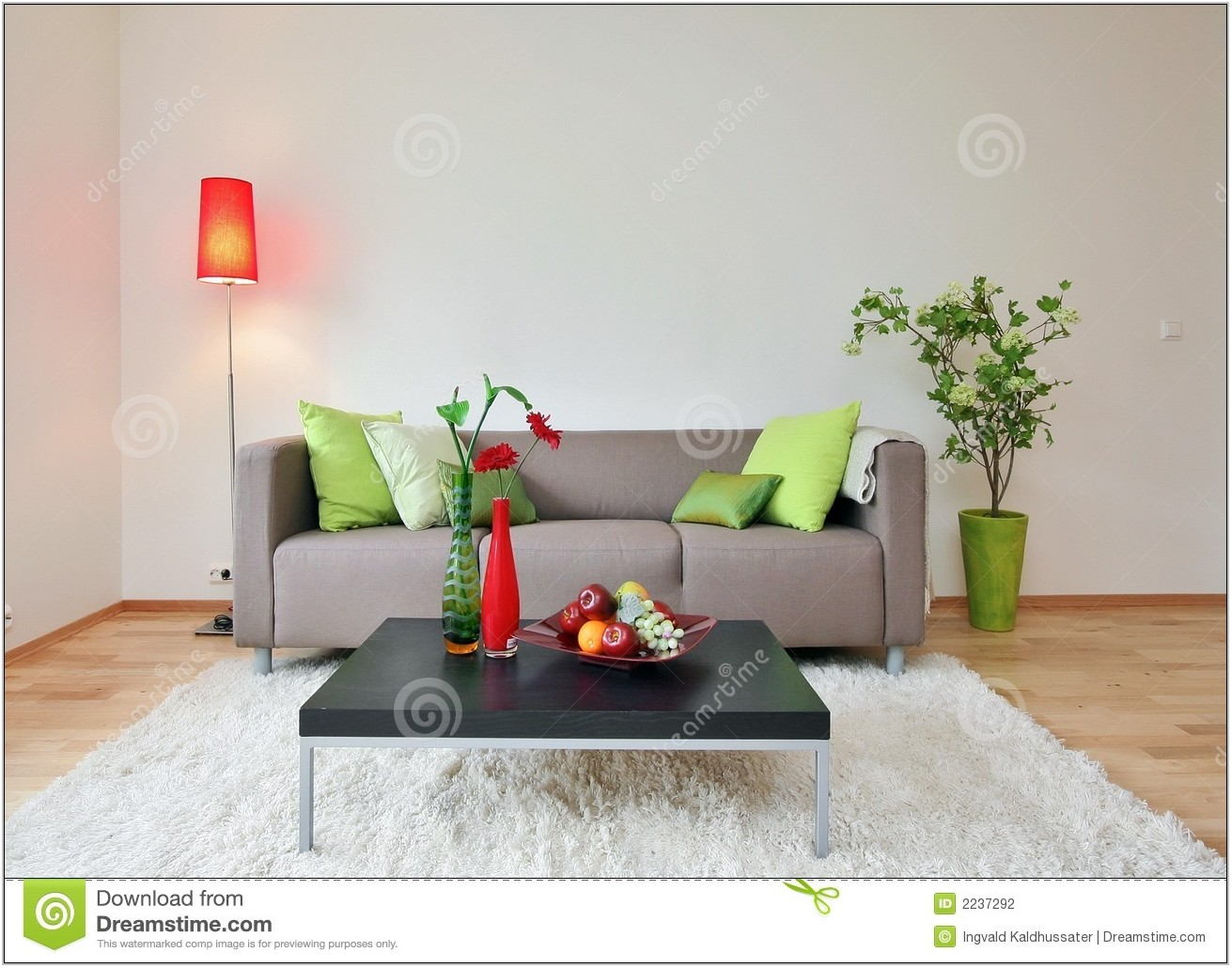 Living Room Stock Image
