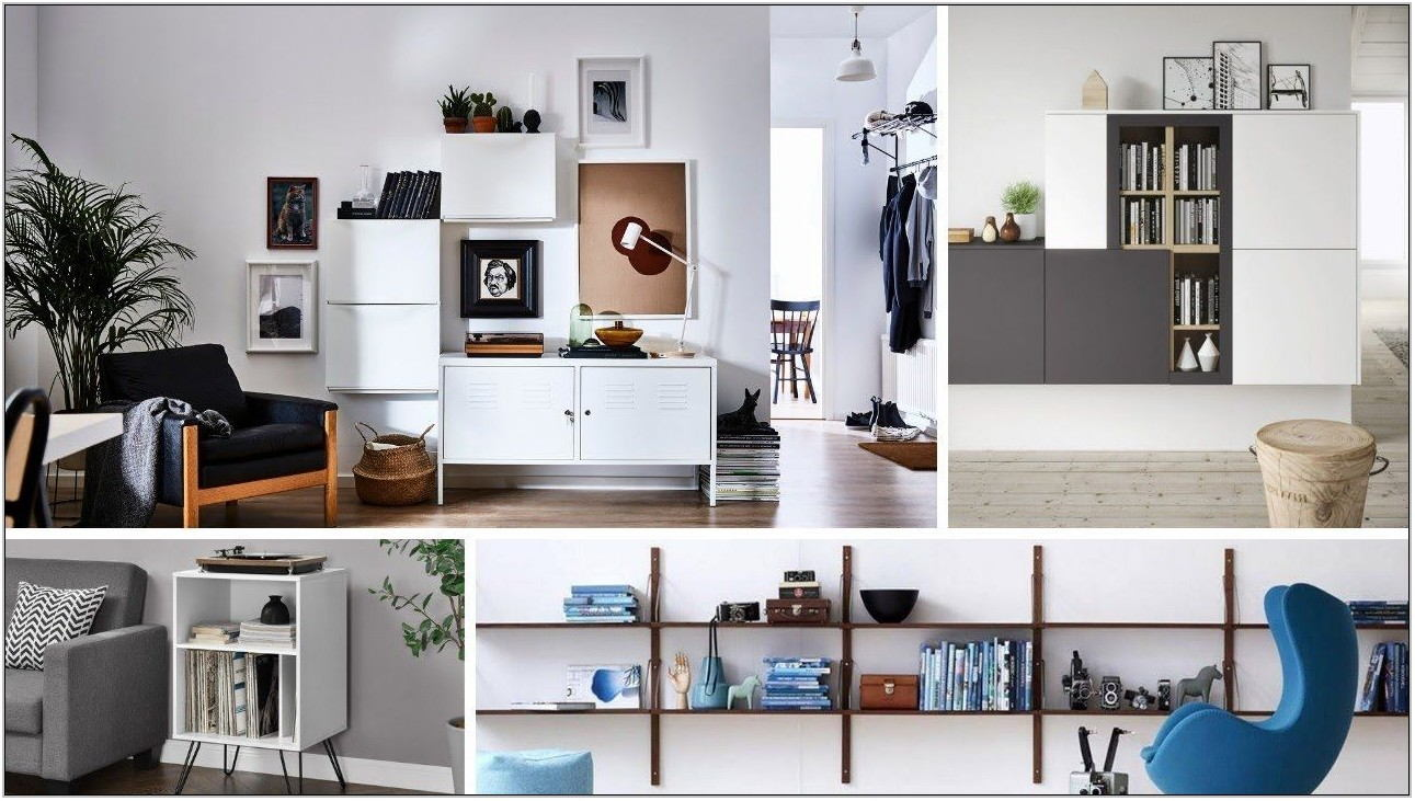 Living Room Storage Ideas For Small Spaces