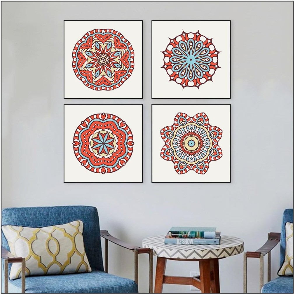 Living Room Wall Art Design