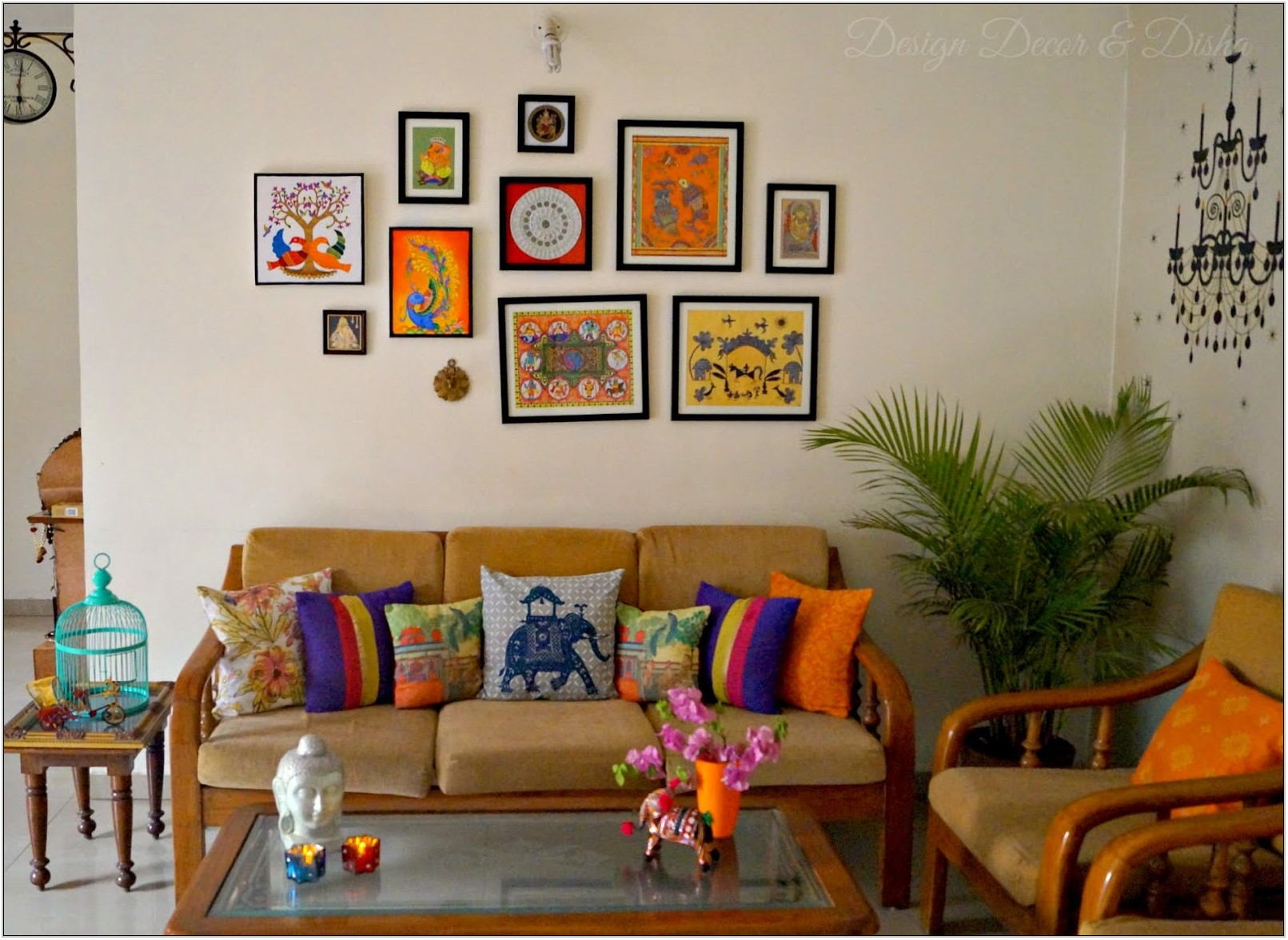 Living Room Wall Decoration India