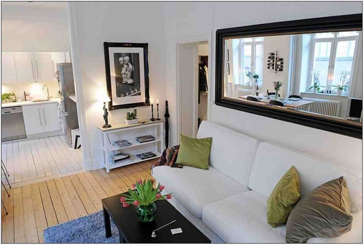 Living Room Wall Mirror Ideas